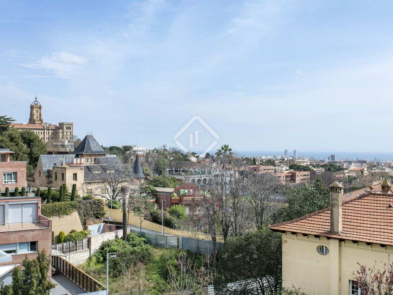 Maison villa de 126m a vendre sarri avec 90m de jardin for Piscine w barcelone