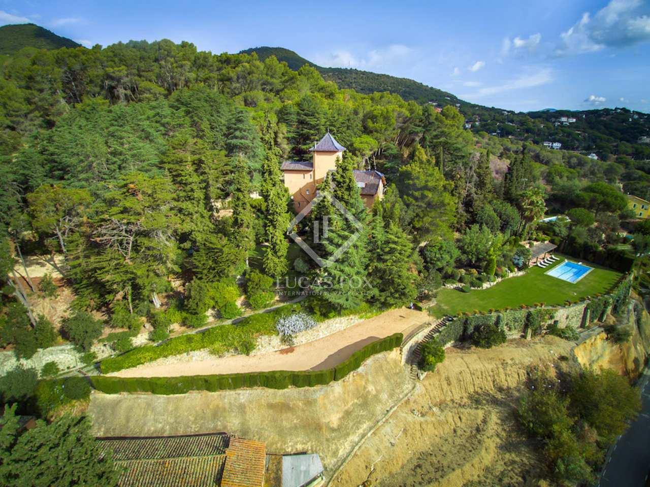 Hacienda de 1870 en venta en arenys de munt barcelona - Casas en arenys de munt ...