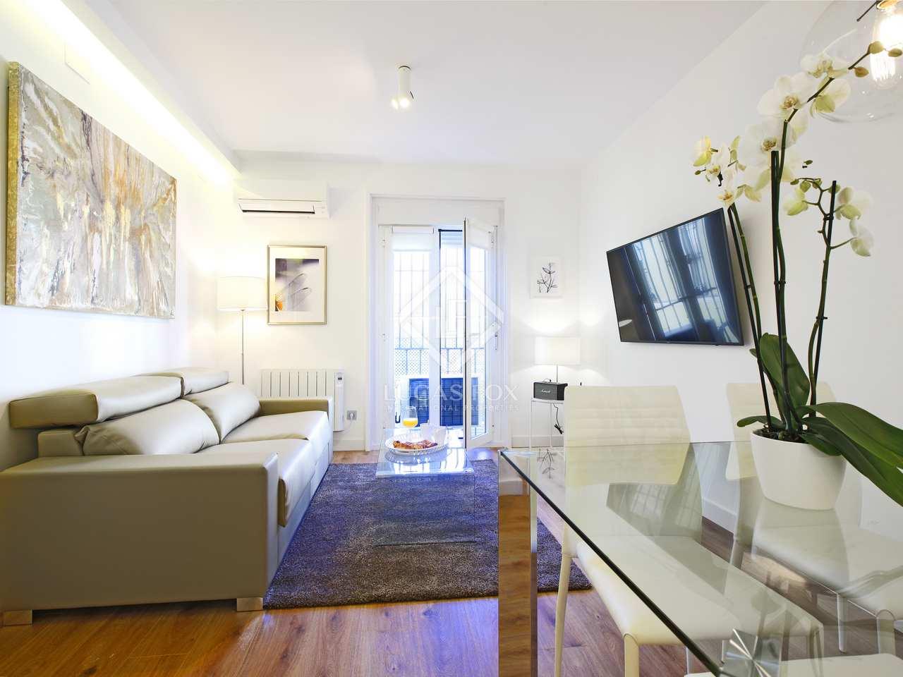 Piso de 1 dormitorio en alquiler en cortes huertas madrid for Piso 1 dormitorio
