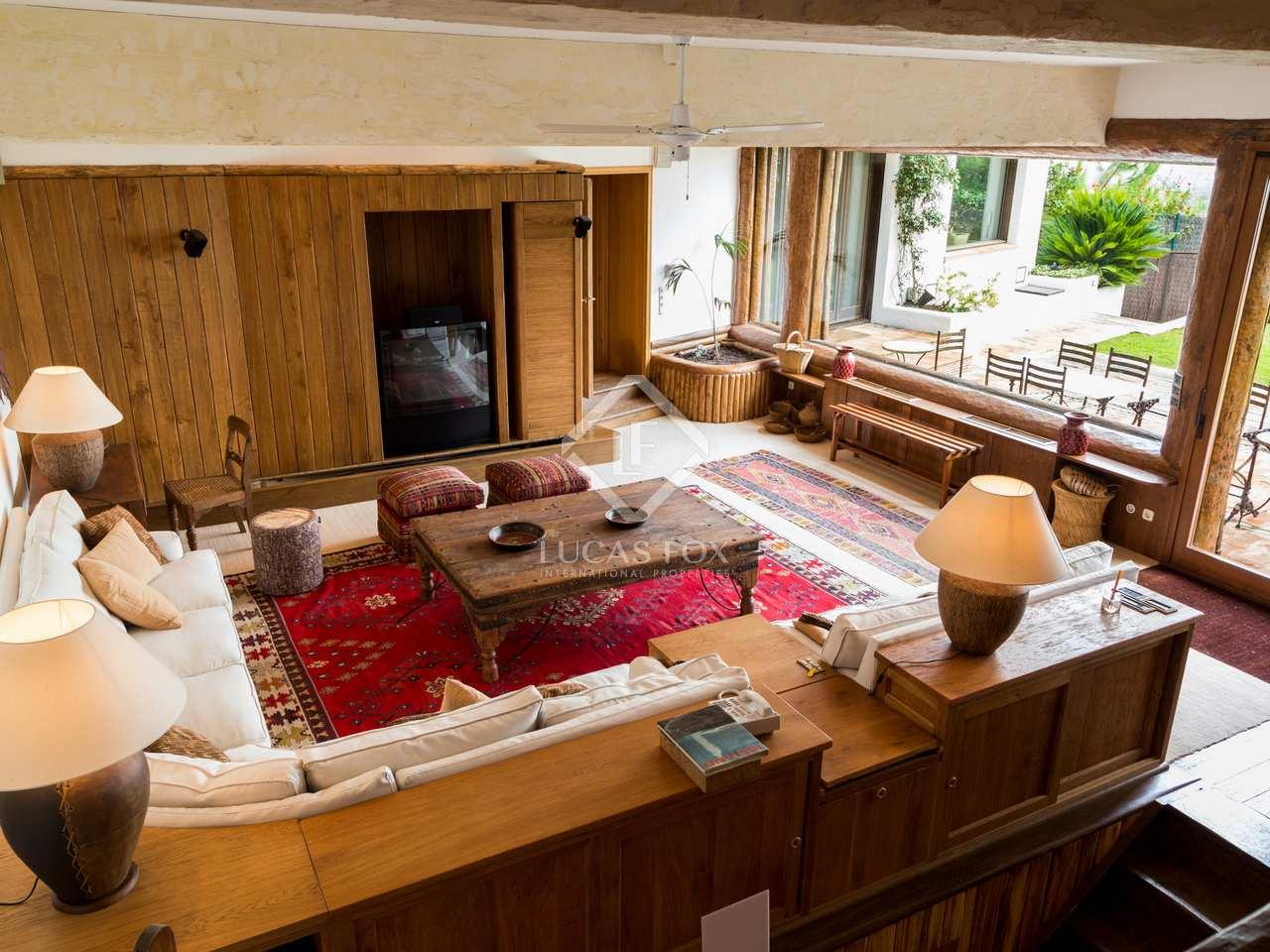 Casa de 450m en alquiler en pedralbes en la zona alta for Casa con jardin alquiler barcelona