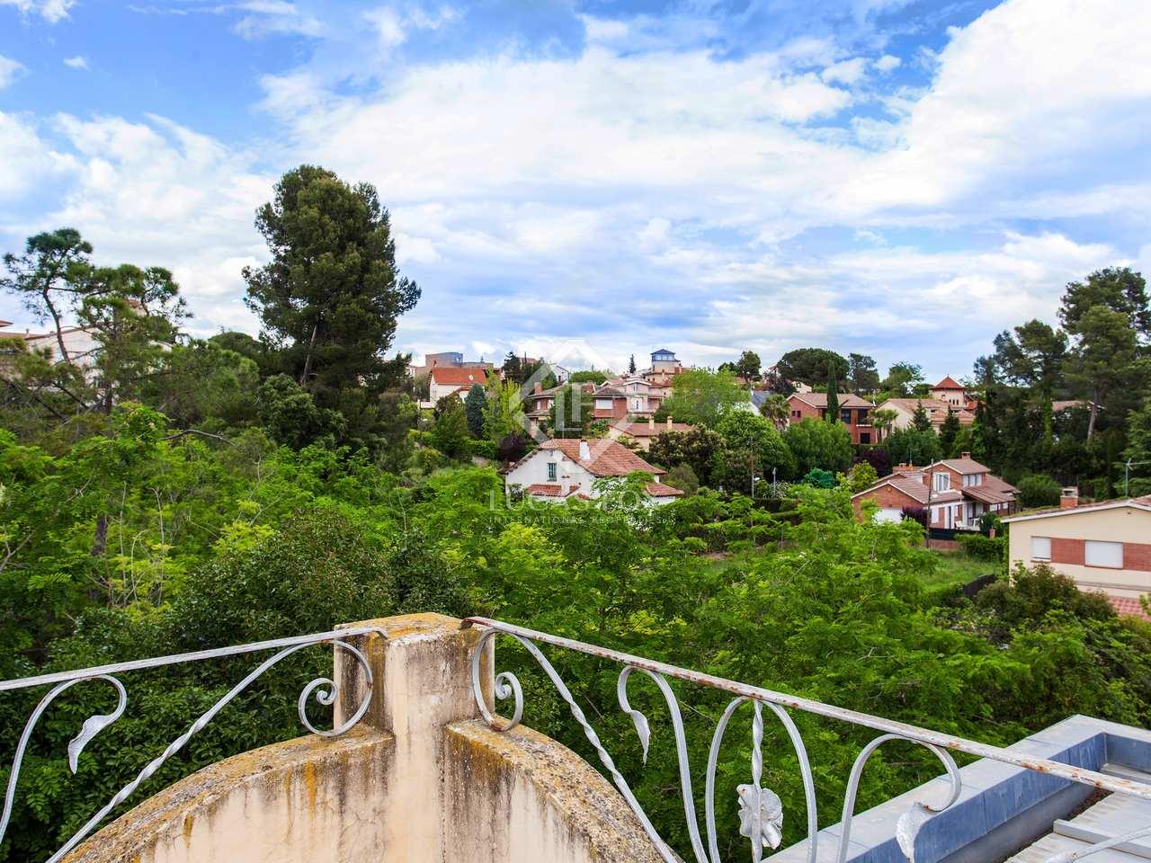 Detached house for sale in valldoreix for Barcelona pool garden 4
