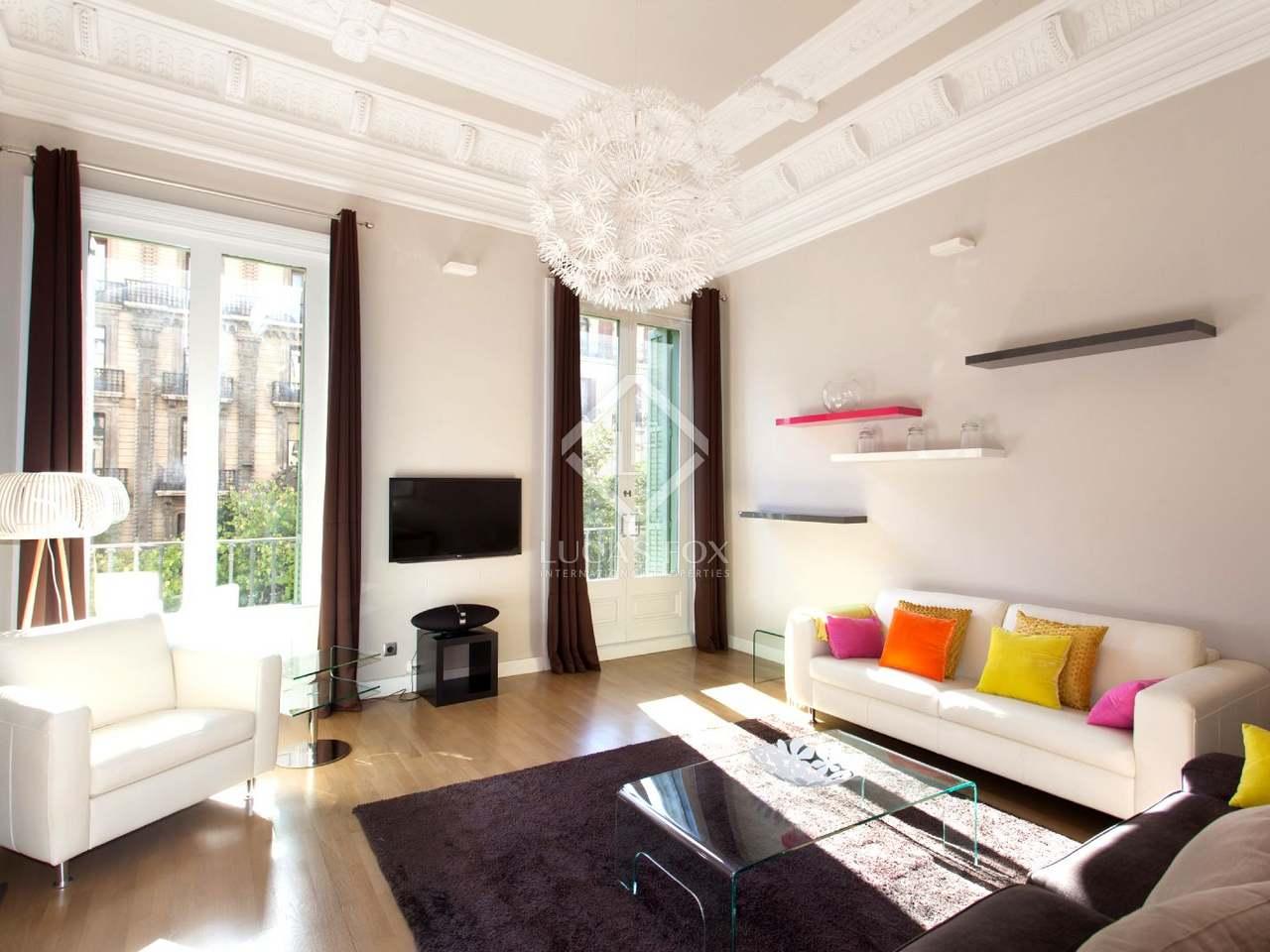 Appartement en vente donnant sur la rambla de catalunya barcelone - Appartement vente barcelone ...