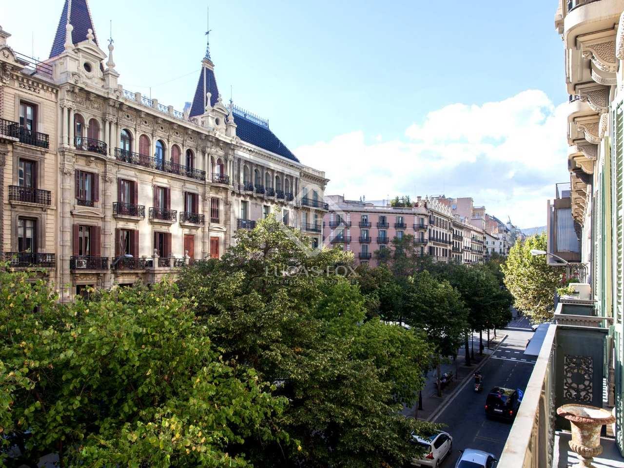 Appartement en vente donnant sur la rambla de catalunya - Appartement de vacances barcelone mesura ...