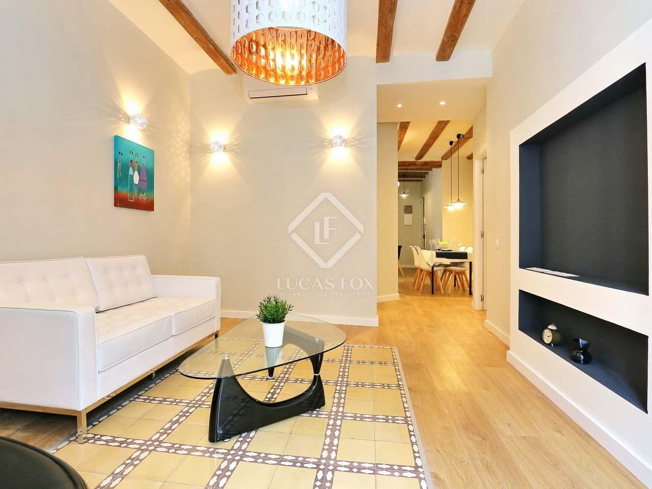 Appartement de 62m a vendre el raval barcelone for Appartement avec piscine barcelone