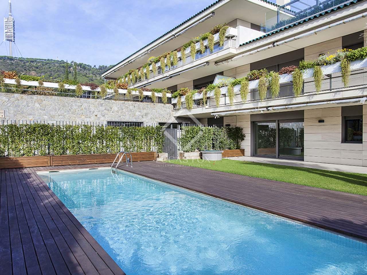 Appartement de 214m a louer sant gervasi la bonanova for Appartement a louer a barcelone avec piscine