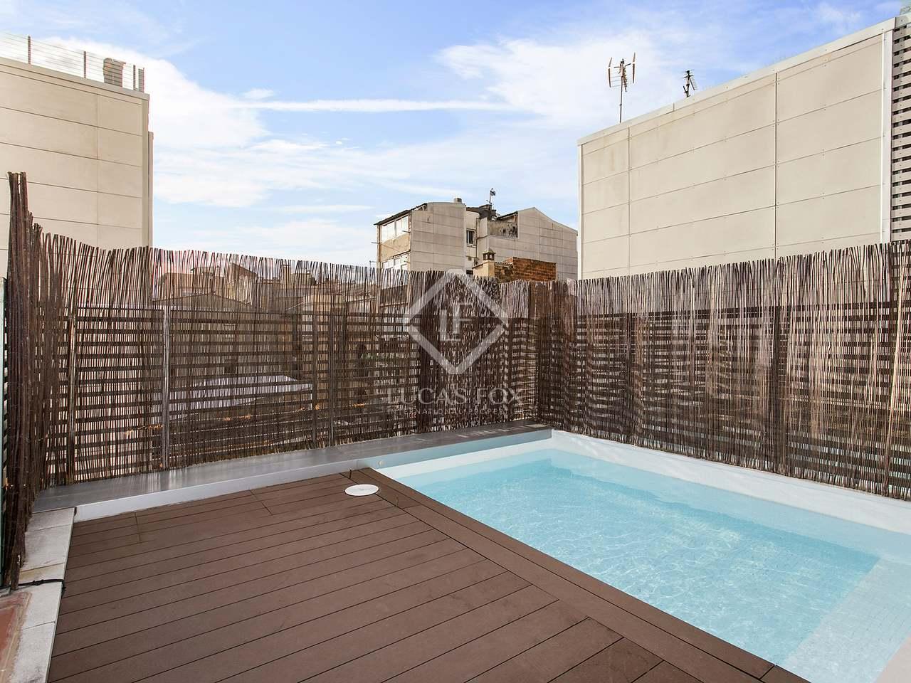 Casa de 140m en alquiler en poblenou barcelona for Alquiler casa jardin barcelona