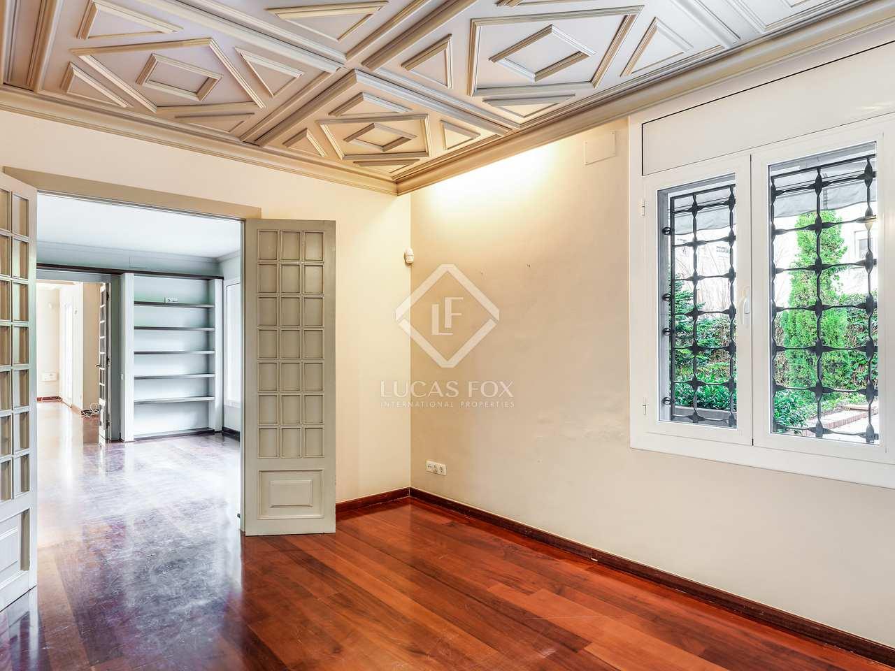 Piso de 230m con 375m de jard n en venta en sant gervasi - Compro piso en madrid zona centro ...
