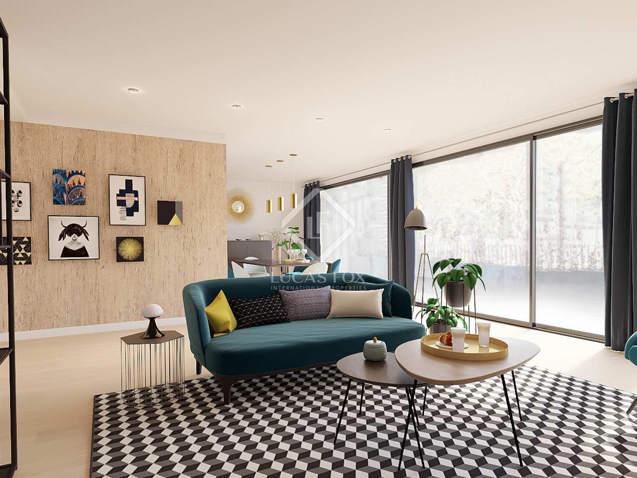 Piso de 180m con 30m de terrazas en venta en pedralbes for Terrazas 1280 a