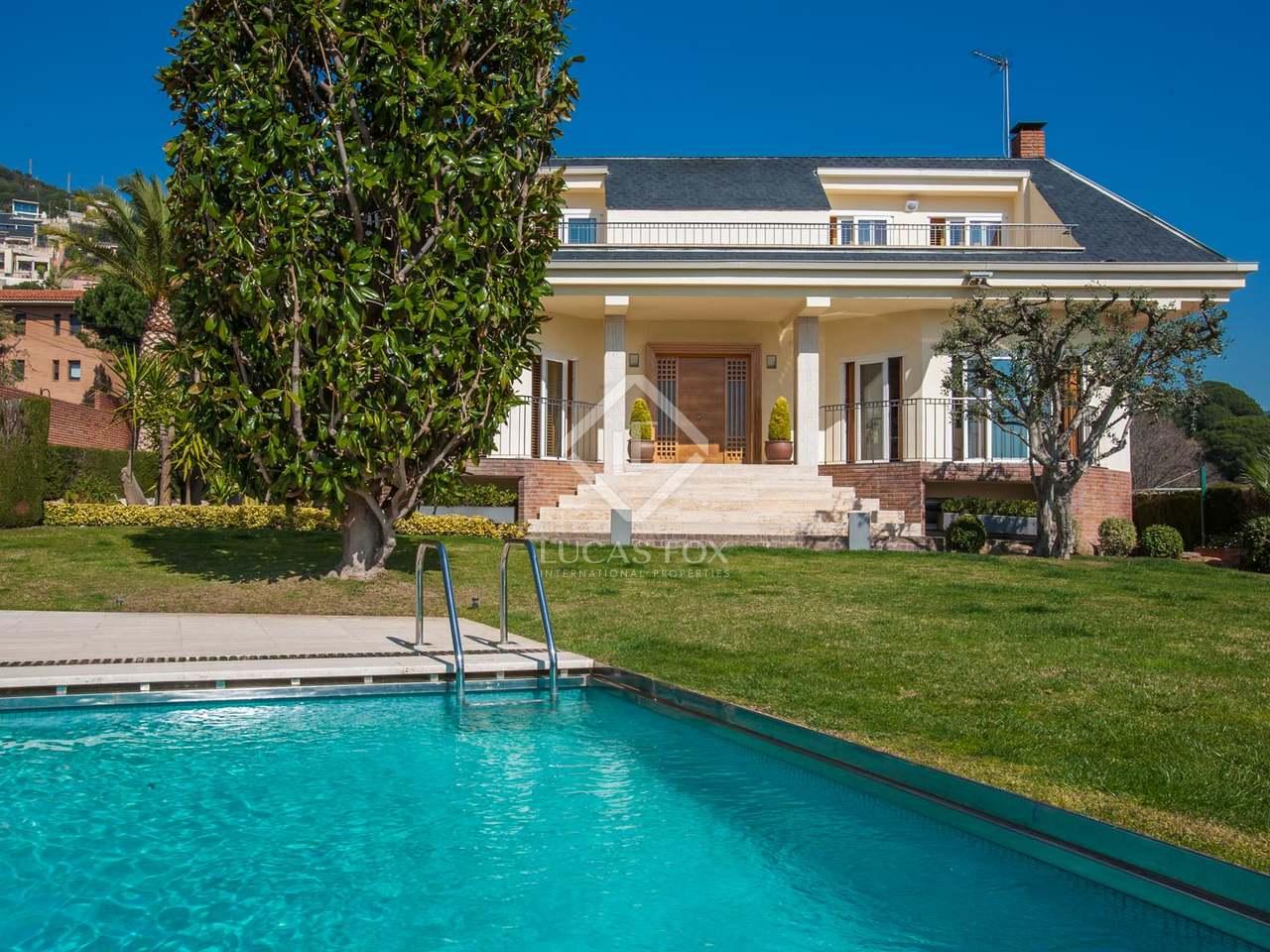Villa de 5 dormitorios en venta en badalona barcelona Villa jardin donde queda