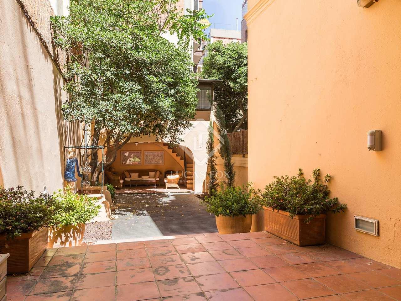 Casa con un jard n en alquiler en sarri en la zona alta for Alquiler casa con jardin barcelona