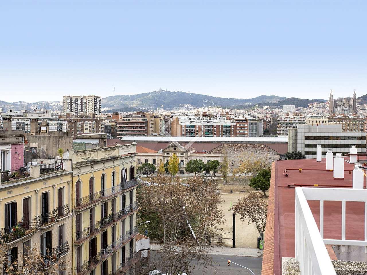 Tico de 100 m en alquiler en eixample derecho barcelona - Atico eixample barcelona ...