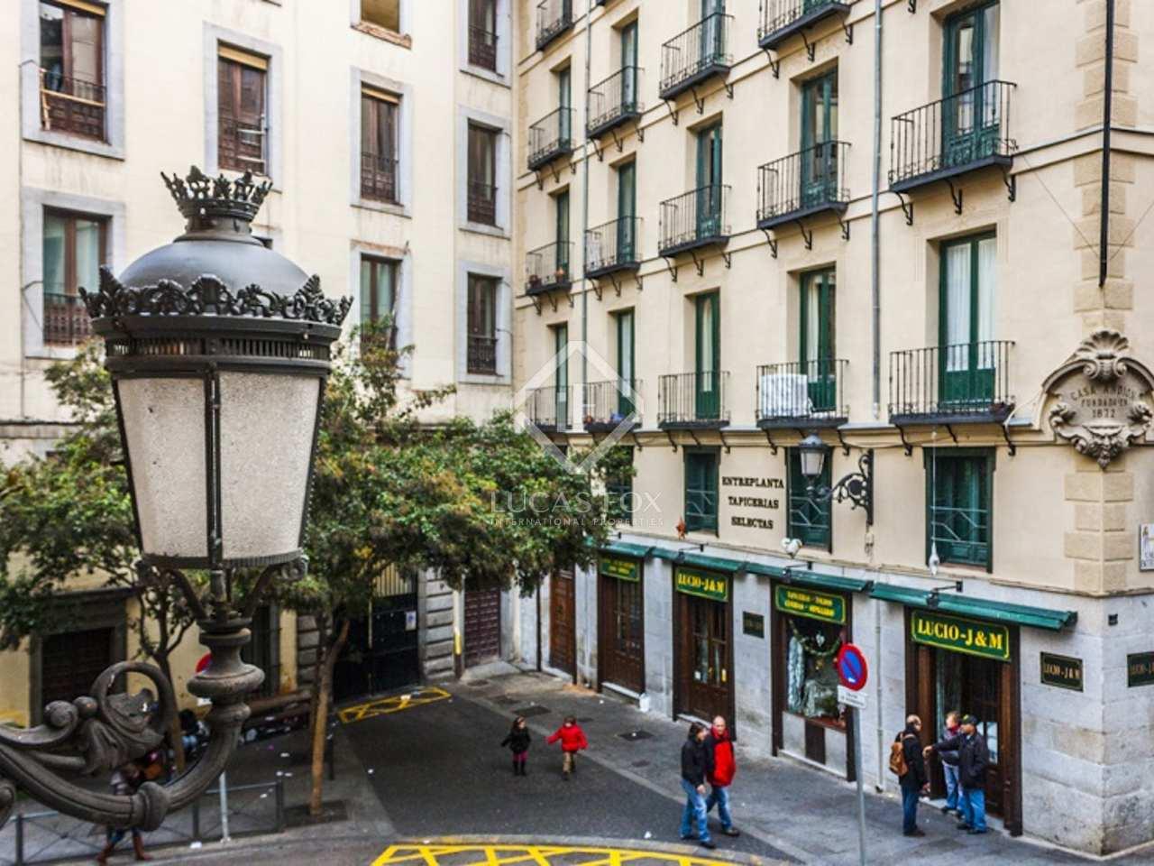 Piso amueblado en alquiler cerca de la plaza mayor madrid for Alquiler habitacion plaza espana madrid