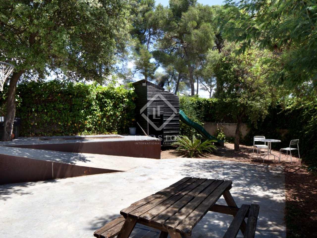 maison en vente sant cugat pr s du centre ville de barcelone. Black Bedroom Furniture Sets. Home Design Ideas