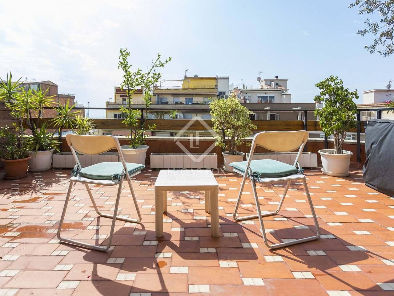 Tico de 5 dormitorios con terraza de 27m en venta en gr cia - Atico terraza barcelona ...