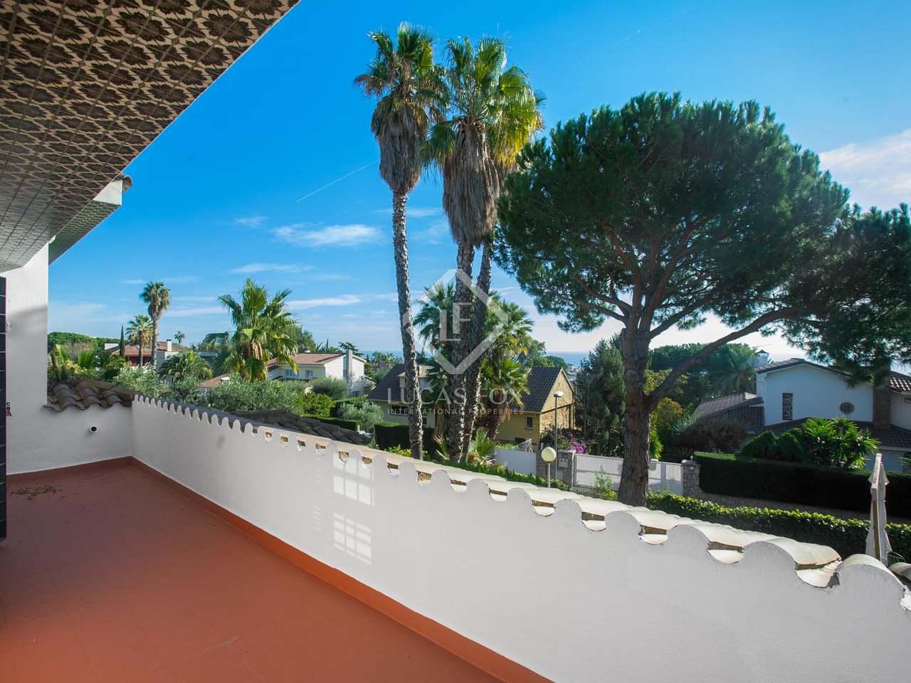 Villa en venta en alella costa del maresme barcelona Villa jardin donde queda