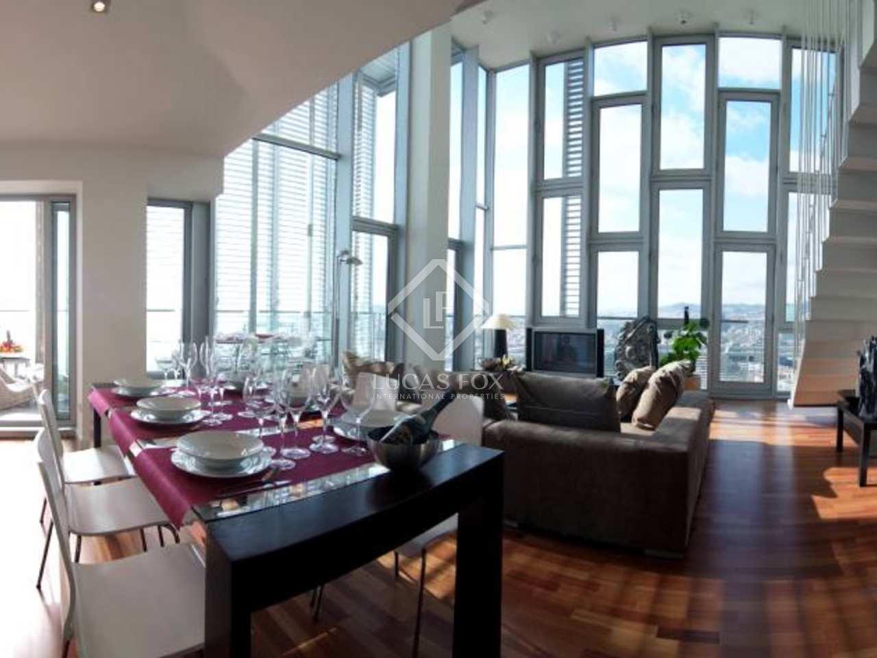 Luxueux appartement louer diagonal mar barcelone for Appartement a louer a barcelone avec piscine