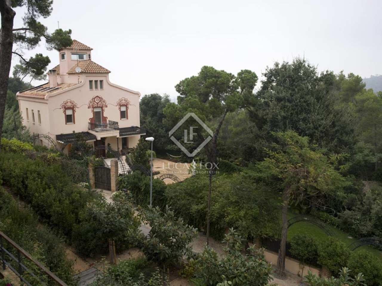 Casa de lujo en venta cerca de sant cugat barcelona - Natura casa barcelona ...