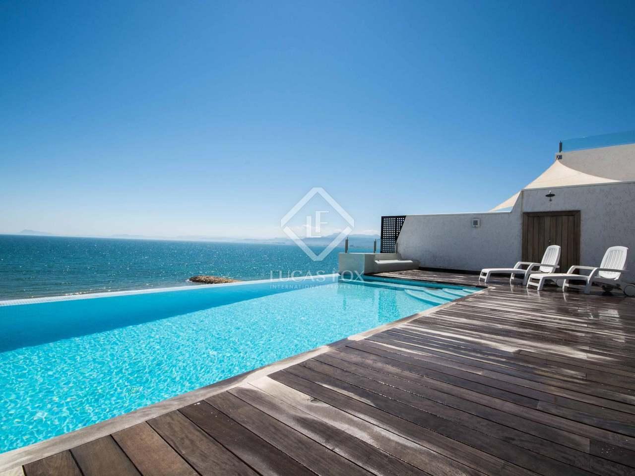 First line villa for sale in cullera near valencia city - Piscine valencia espagne ...