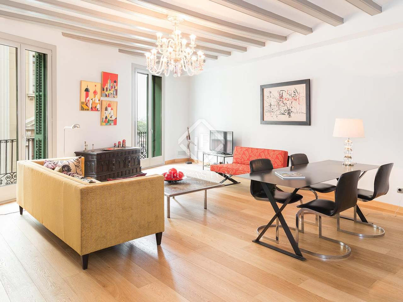 Luxury 2 Bedroom Apartment For Sale In Barcelona Old Town