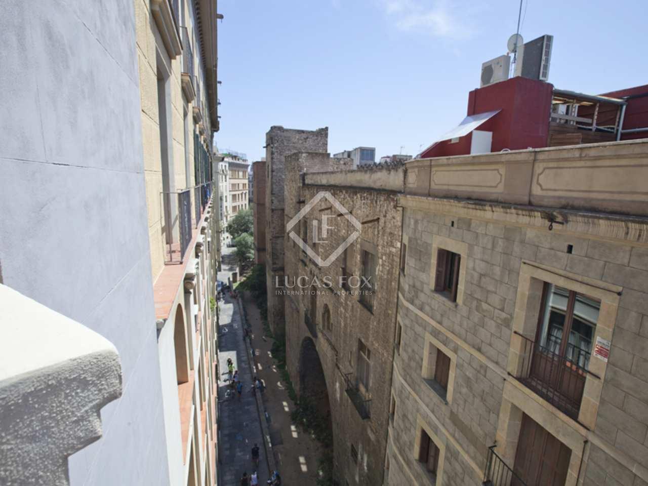 Appartement unique r nover vendre ciutat vella barcelone - Appartements a vendre a barcelone ...
