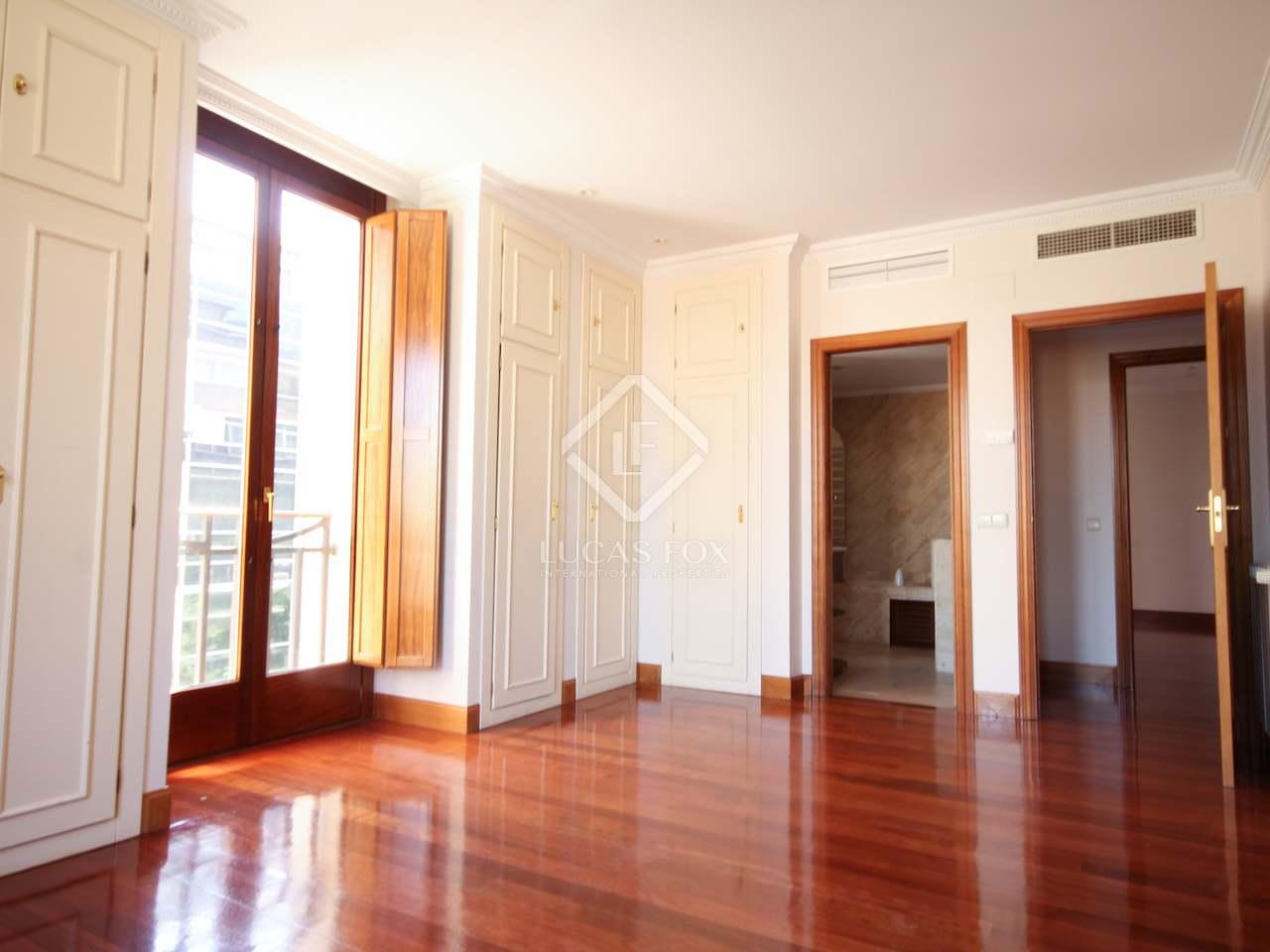 230m wohnung zur miete in castellana madrid. Black Bedroom Furniture Sets. Home Design Ideas