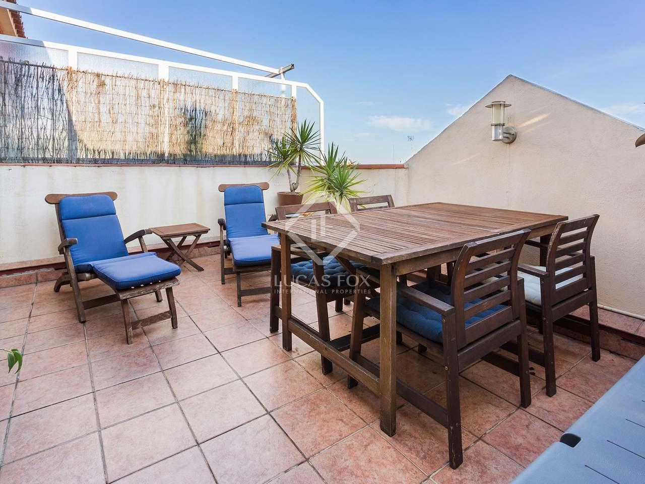Tico con terraza en venta en el eixample barcelona - Atico eixample barcelona ...