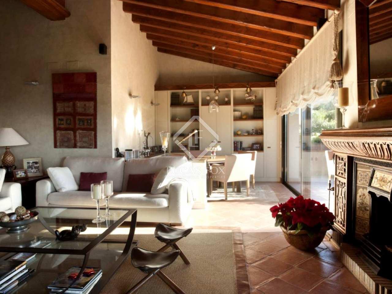 Casa de lujo en venta en cabrils barcelona - Casas espectaculares en espana ...