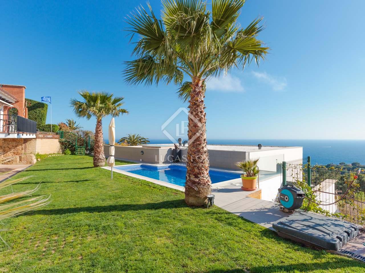 Maison villa de 382m a vendre lloret de mar tossa for Location maison lloret del mar avec piscine