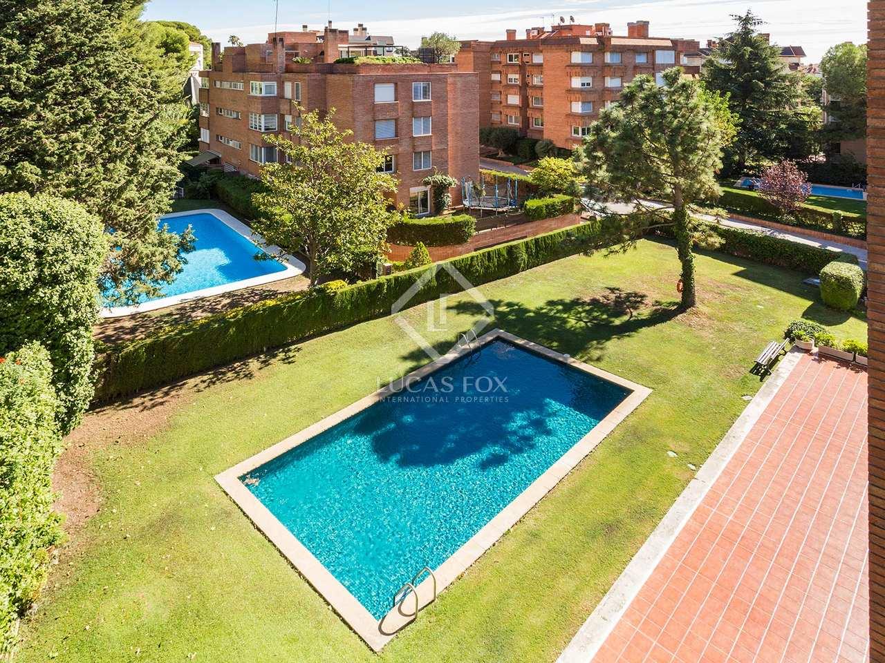 Appartement de 207m a vendre pedralbes avec 20m terrasse for Appartement avec piscine barcelone