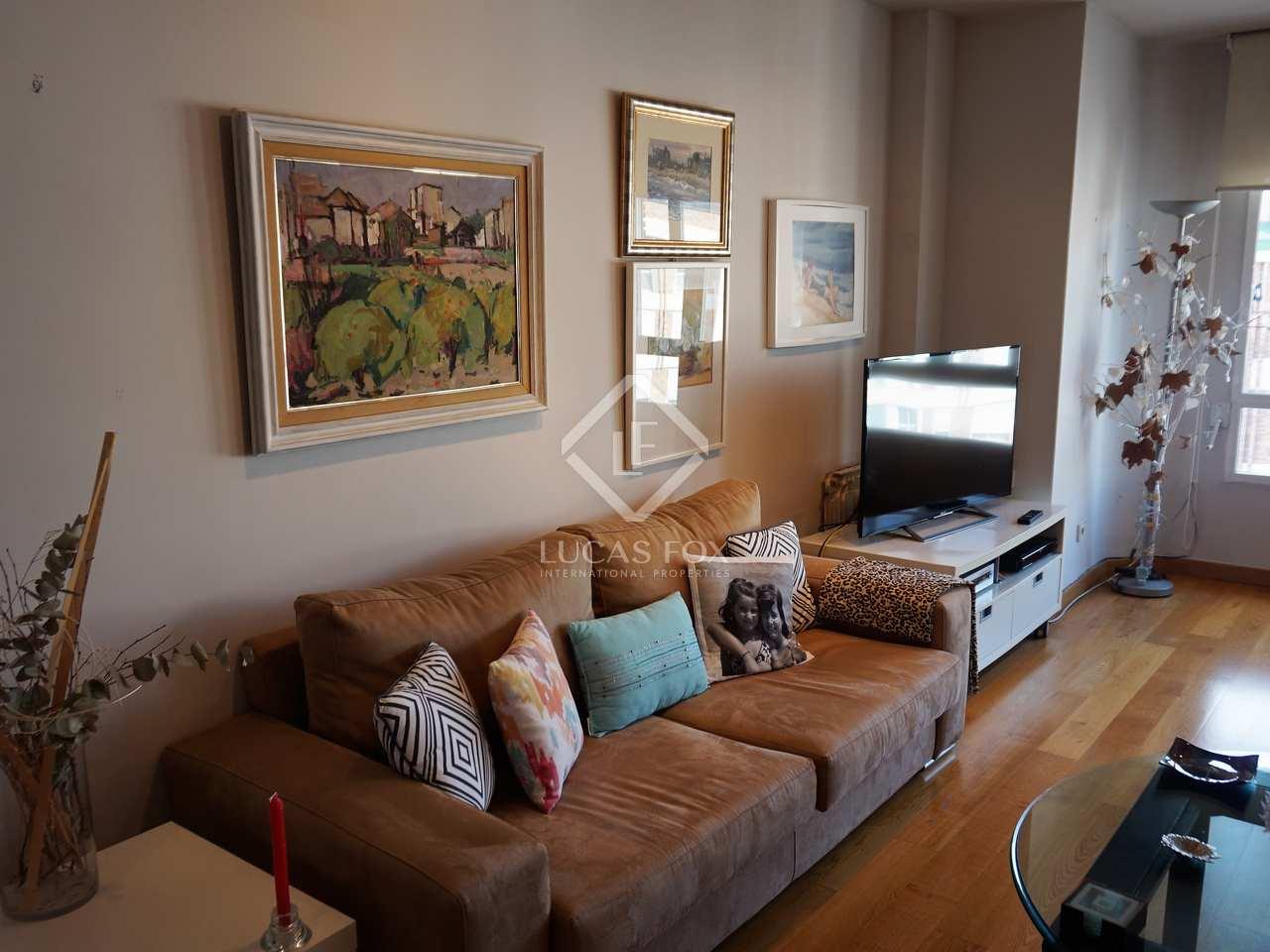 Piso de 120m en alquiler en el pla del real valencia for Alquiler de dormitorios