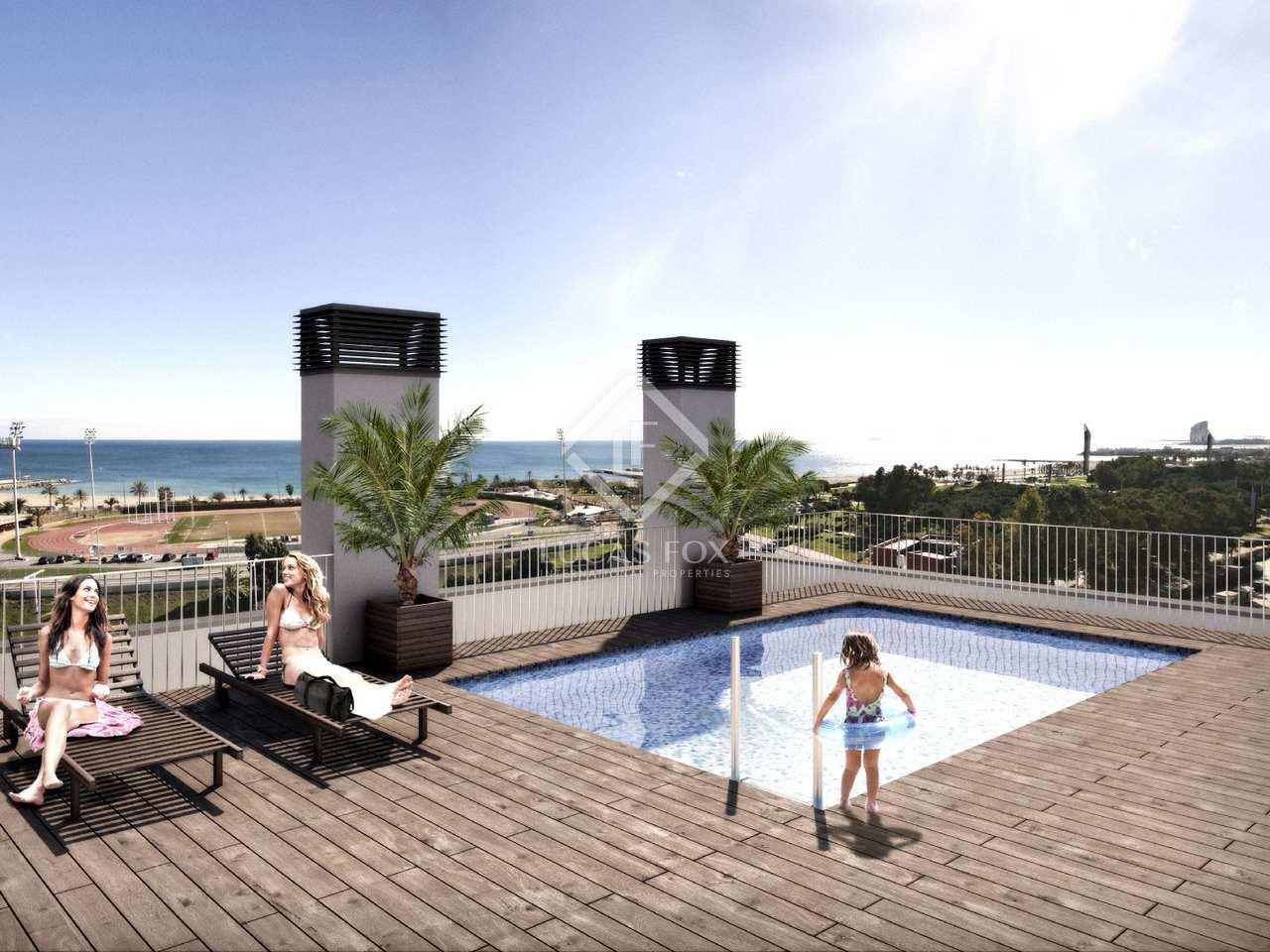 Appartement de 96m a vendre poblenou avec 9m terrasse for Piscine w barcelone