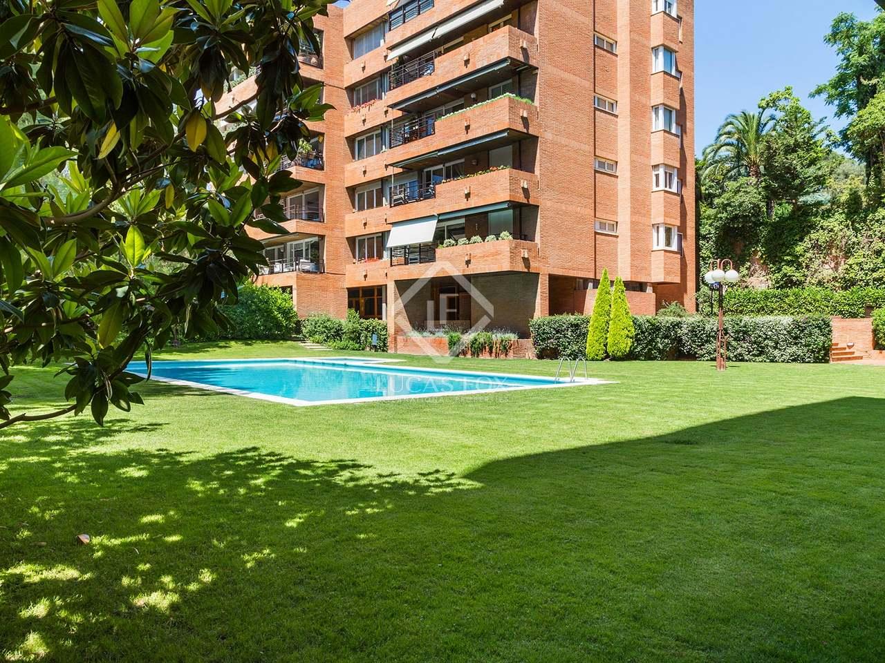 Appartement de 290m a vendre sarri avec 18m terrasse for Appartement avec piscine barcelone