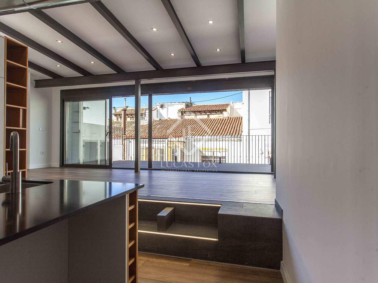Tico de 115m con 50m de terraza en venta en sant francesc - Construir habitacion en terraza de atico ...