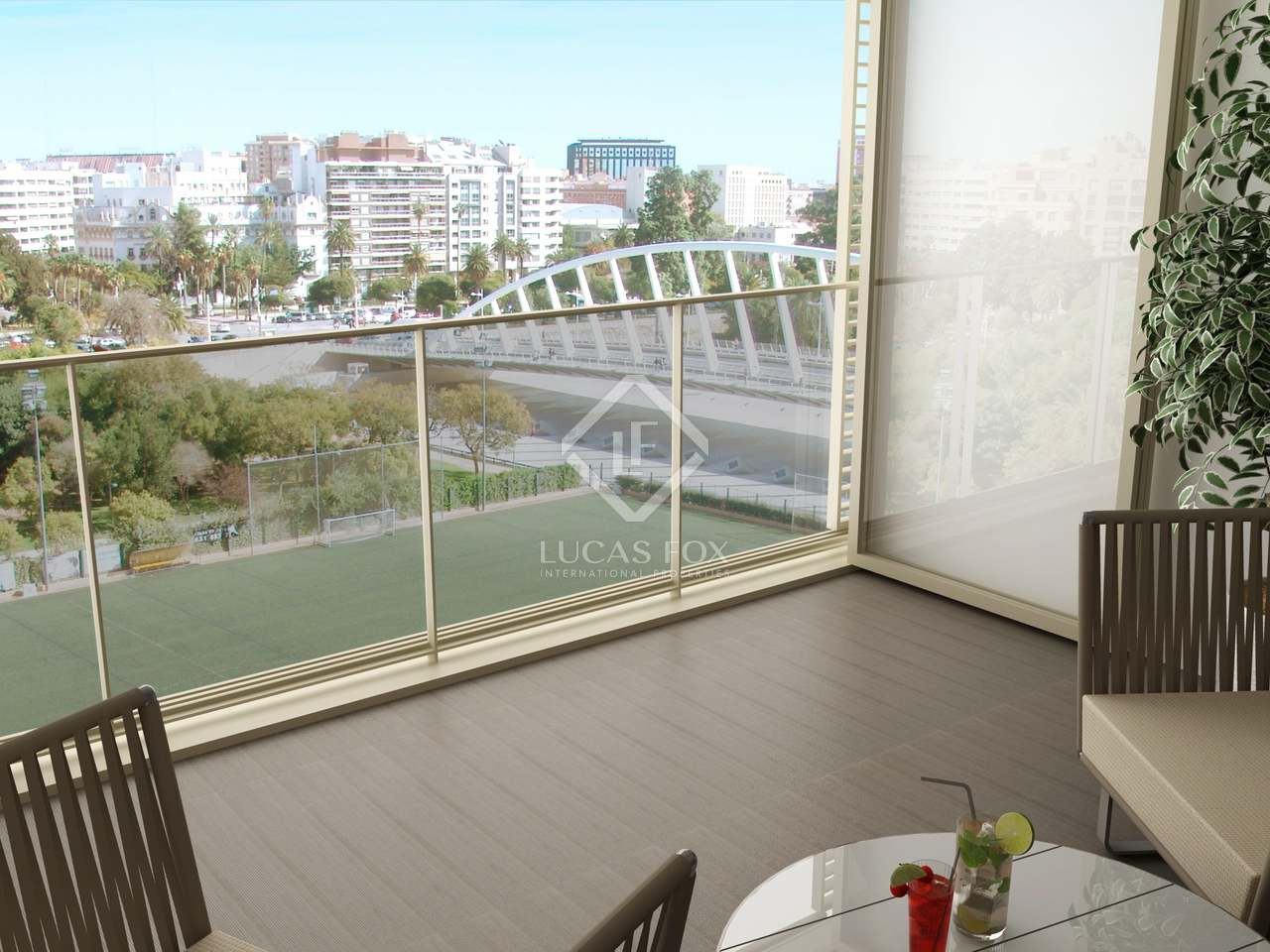 Piso de 159m con 37m de terraza en venta en la xerea for Terrazas 1280 a