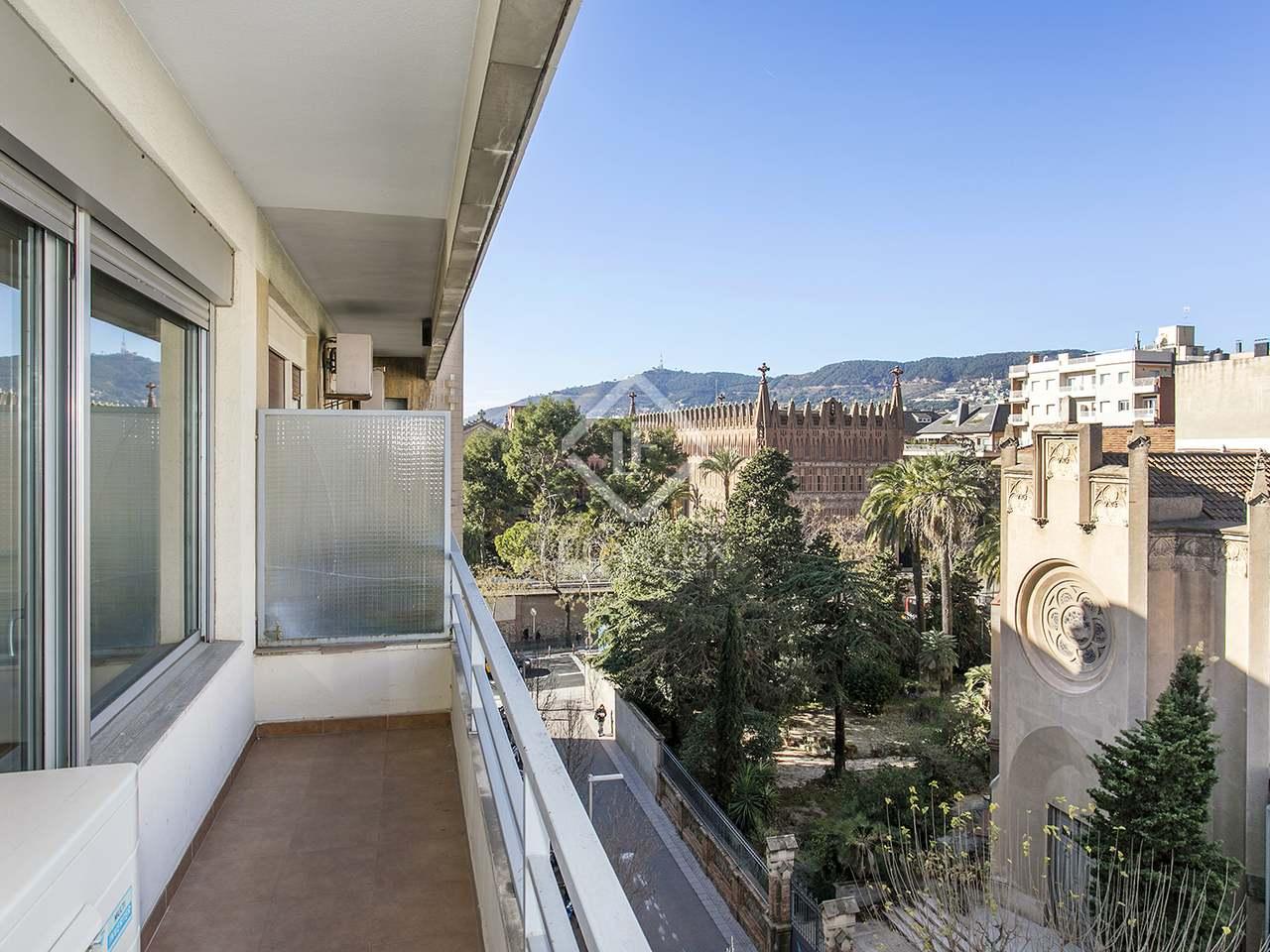 Piso con terraza en alquiler en sant gervasi la bonanova for Compartir piso barcelona
