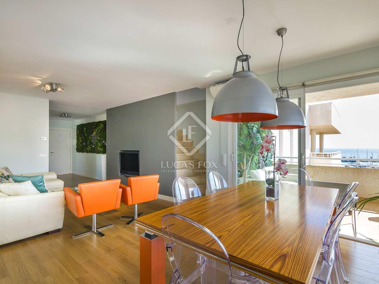 118m wohnung mit 122m terrasse zum verkauf in santa eulalia. Black Bedroom Furniture Sets. Home Design Ideas