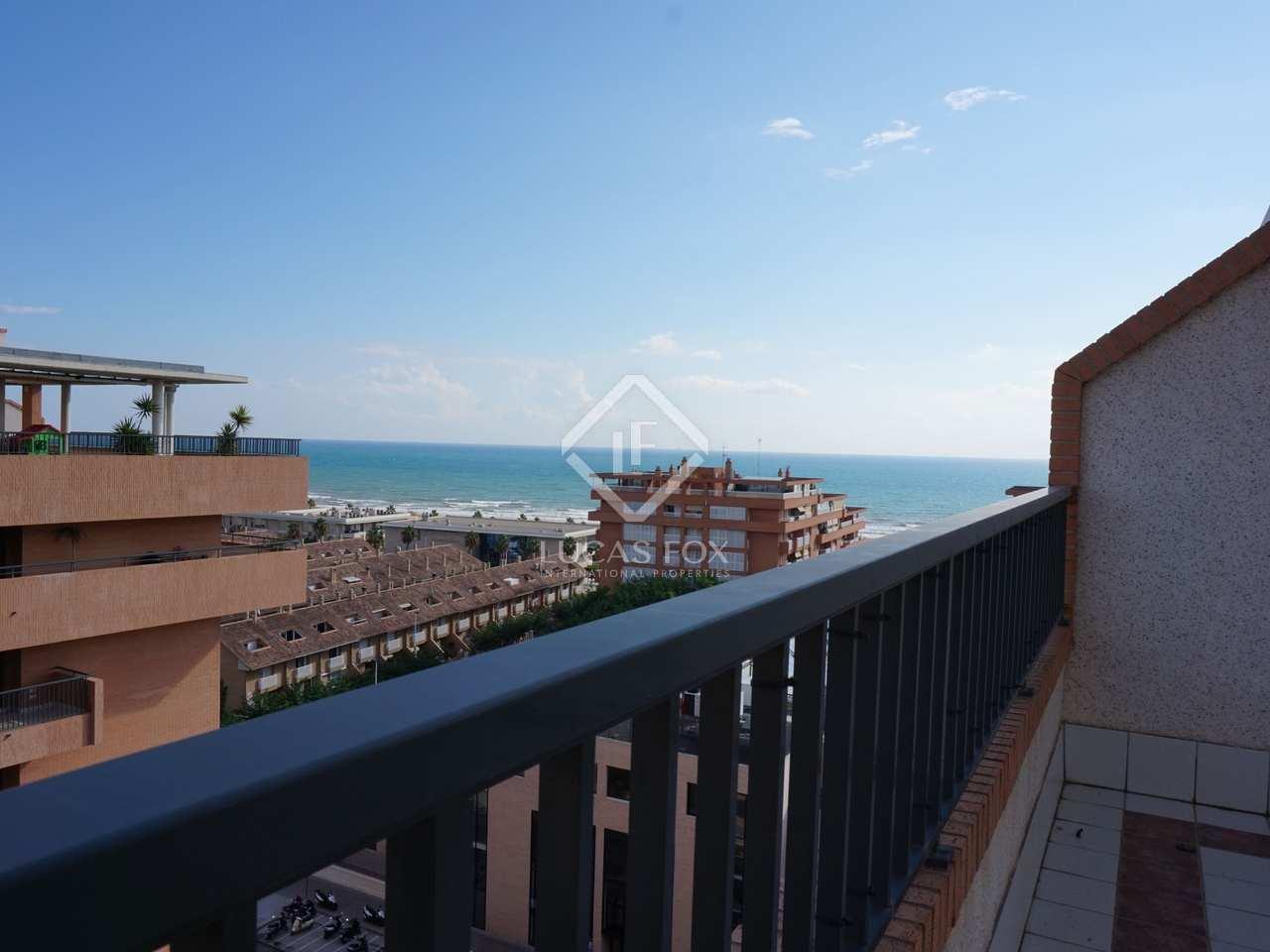 Tico con vista al mar en venta en playa patacona valencia for Piscina patacona