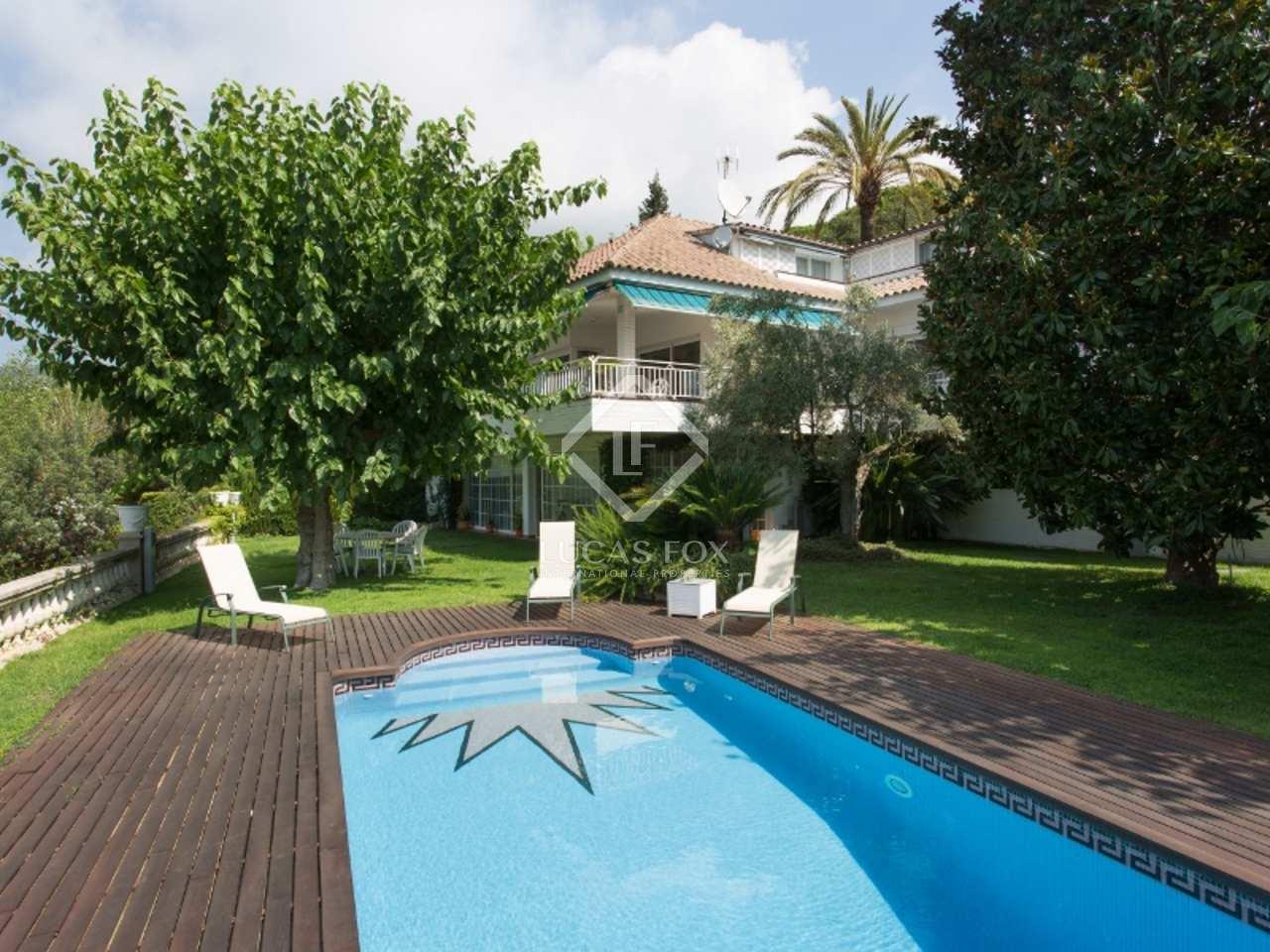 Large 5 Bedroom Villa For Sale Pool Sea Views In Cabrils