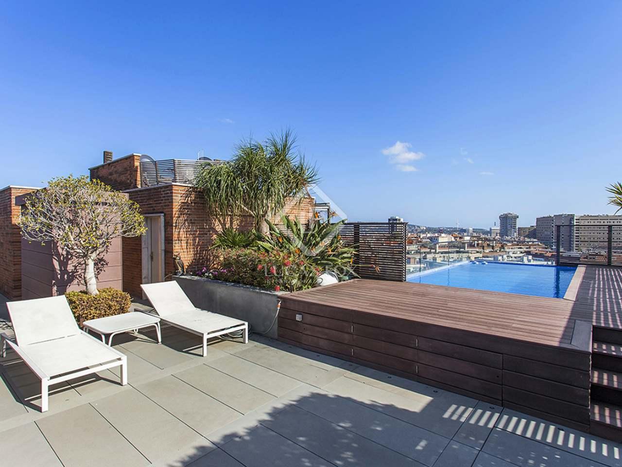 Tico con piscina privada en venta cerca de tur park - Piscina terraza atico ...
