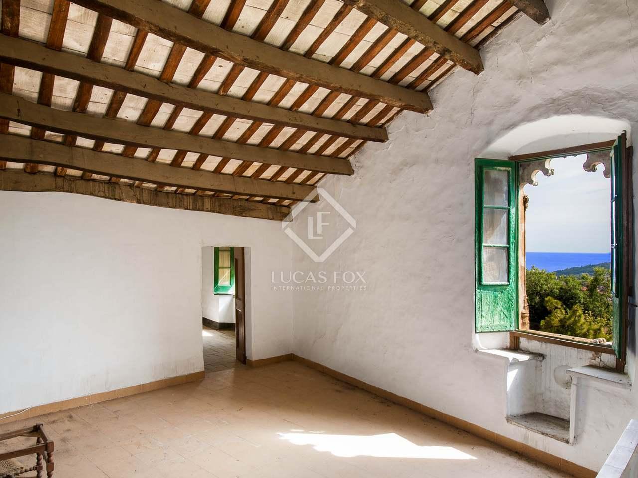 Casa rural a reformar en venta en tiana maresme - Casa rural barata barcelona ...