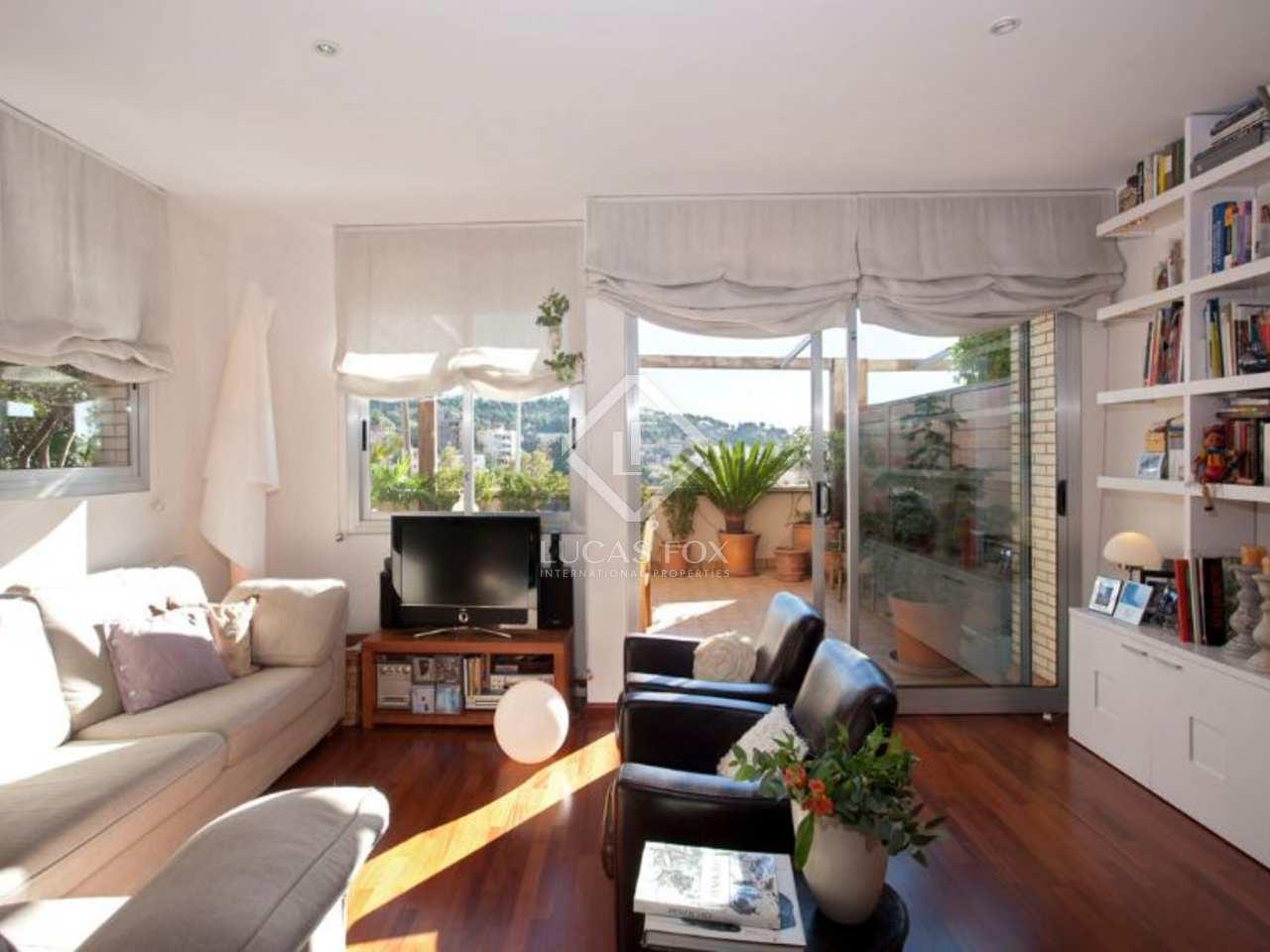 Ground floor apartment to buy in barcelona zona alta for Barcelona apartment