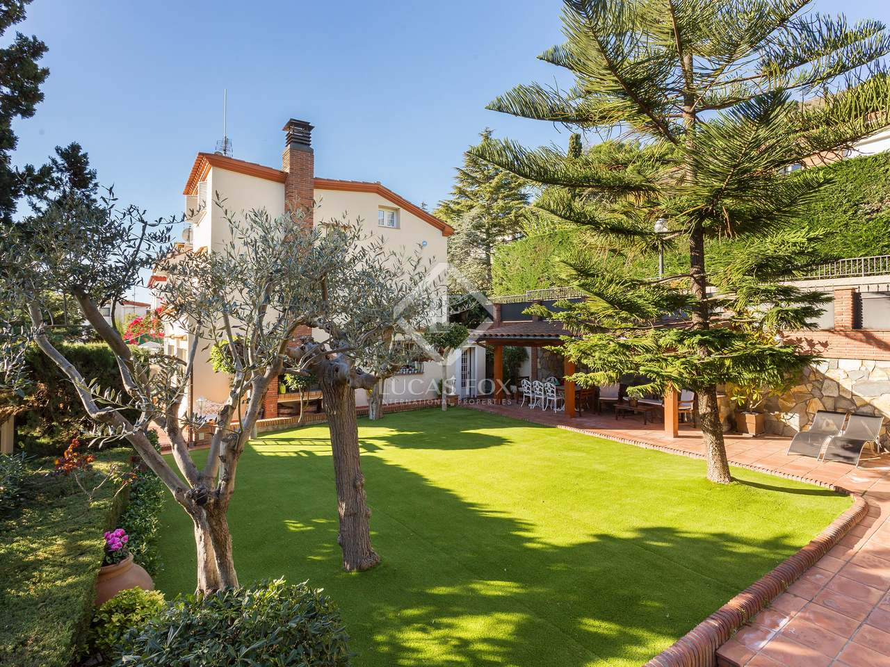 maison villa de 273m a vendre pedralbes barcelone. Black Bedroom Furniture Sets. Home Design Ideas