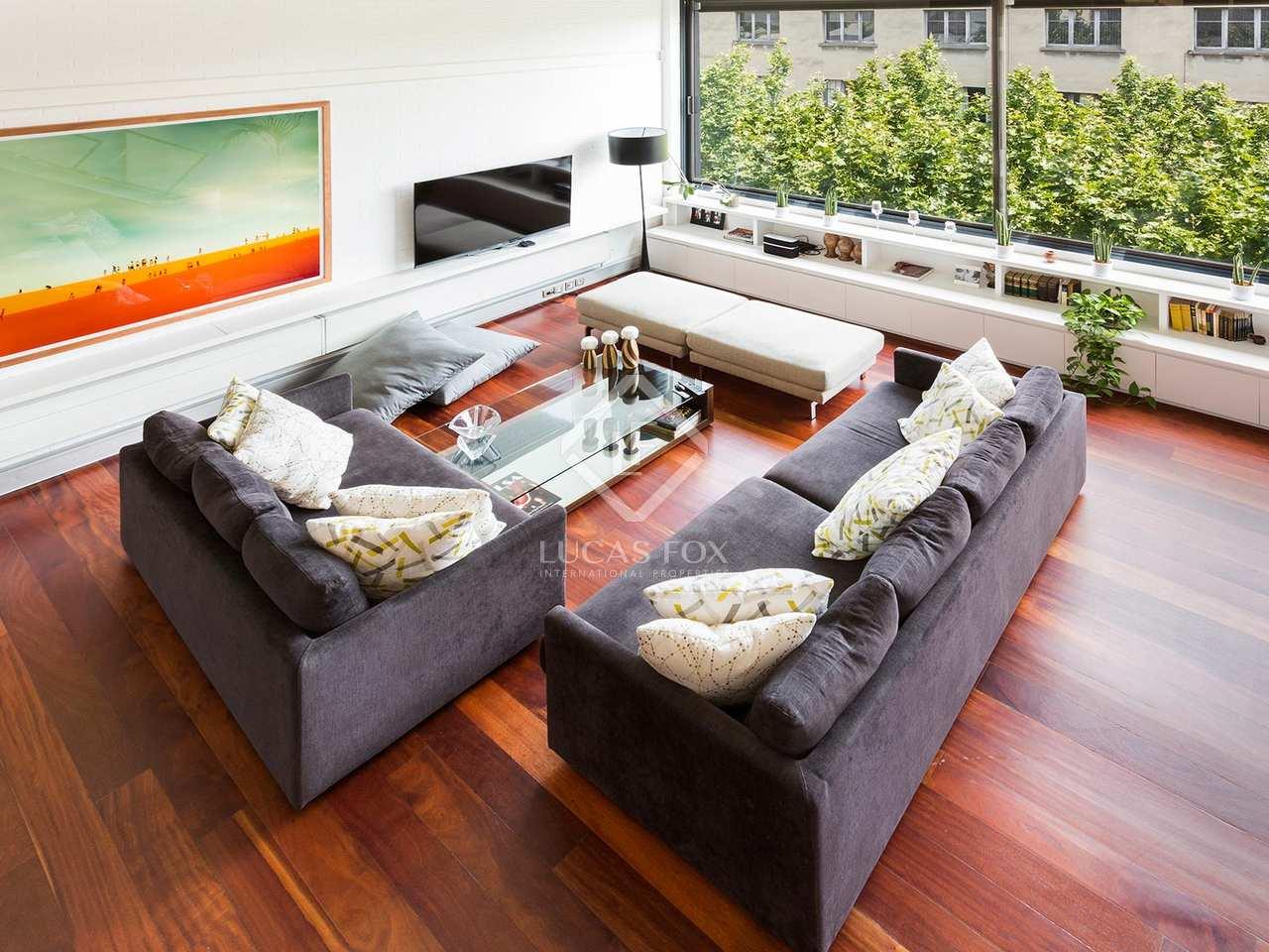 3 Bedroom Loft Style Property For Sale In Poblenou