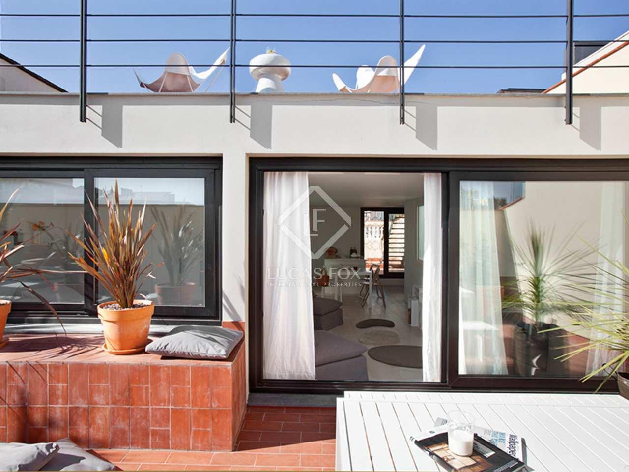 Tico con terraza en venta en el eixample barcelona - Atico terraza barcelona ...