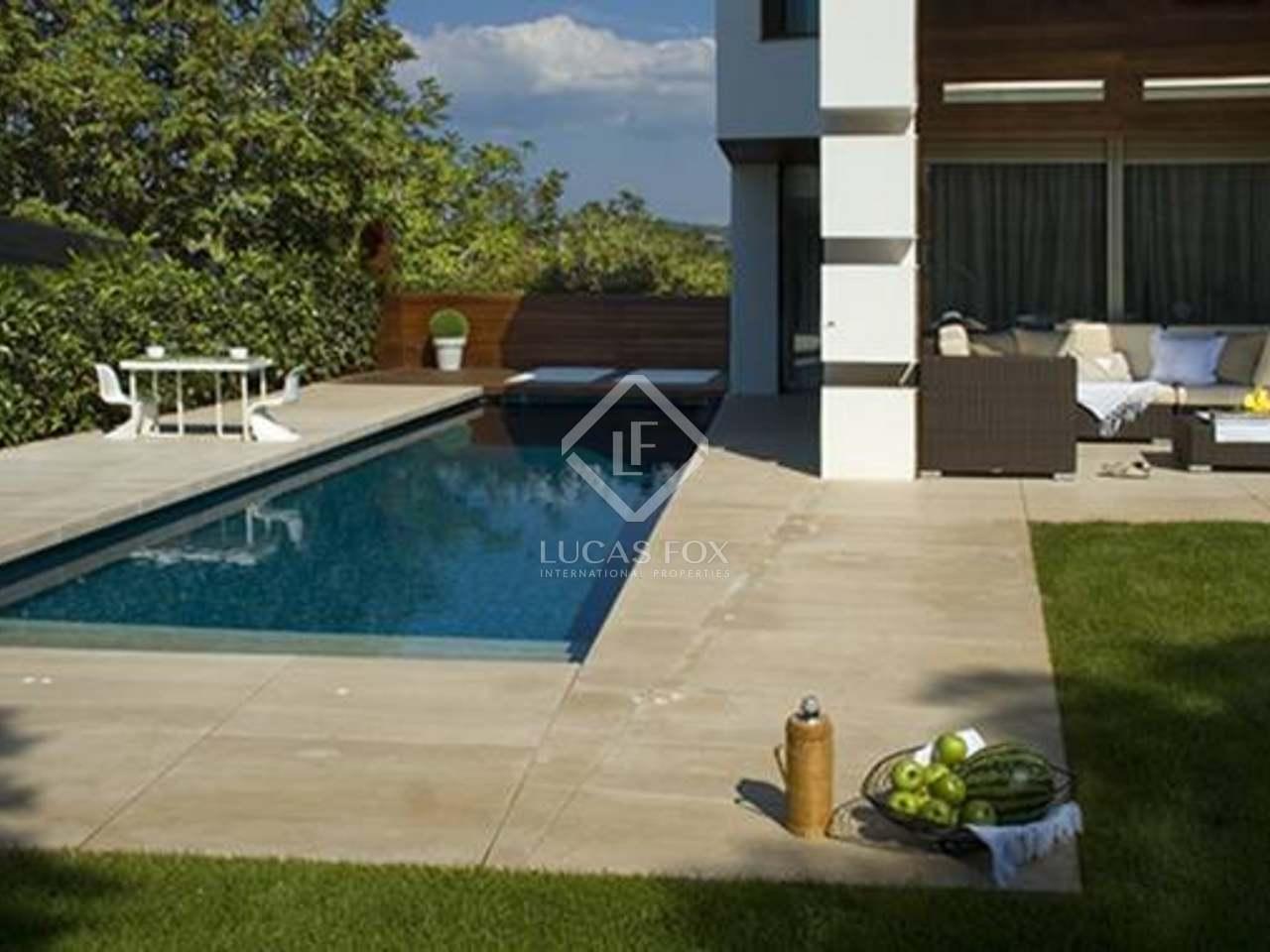 Maison de luxe moderne en vente sant cugat barcelone - Spa sant cugat ...