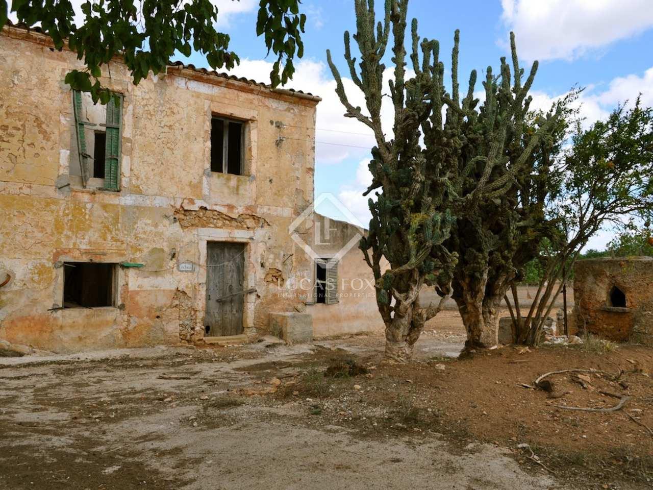 Casa de campo por renovar en el sur de mallorca - Casa de campo mallorca ...