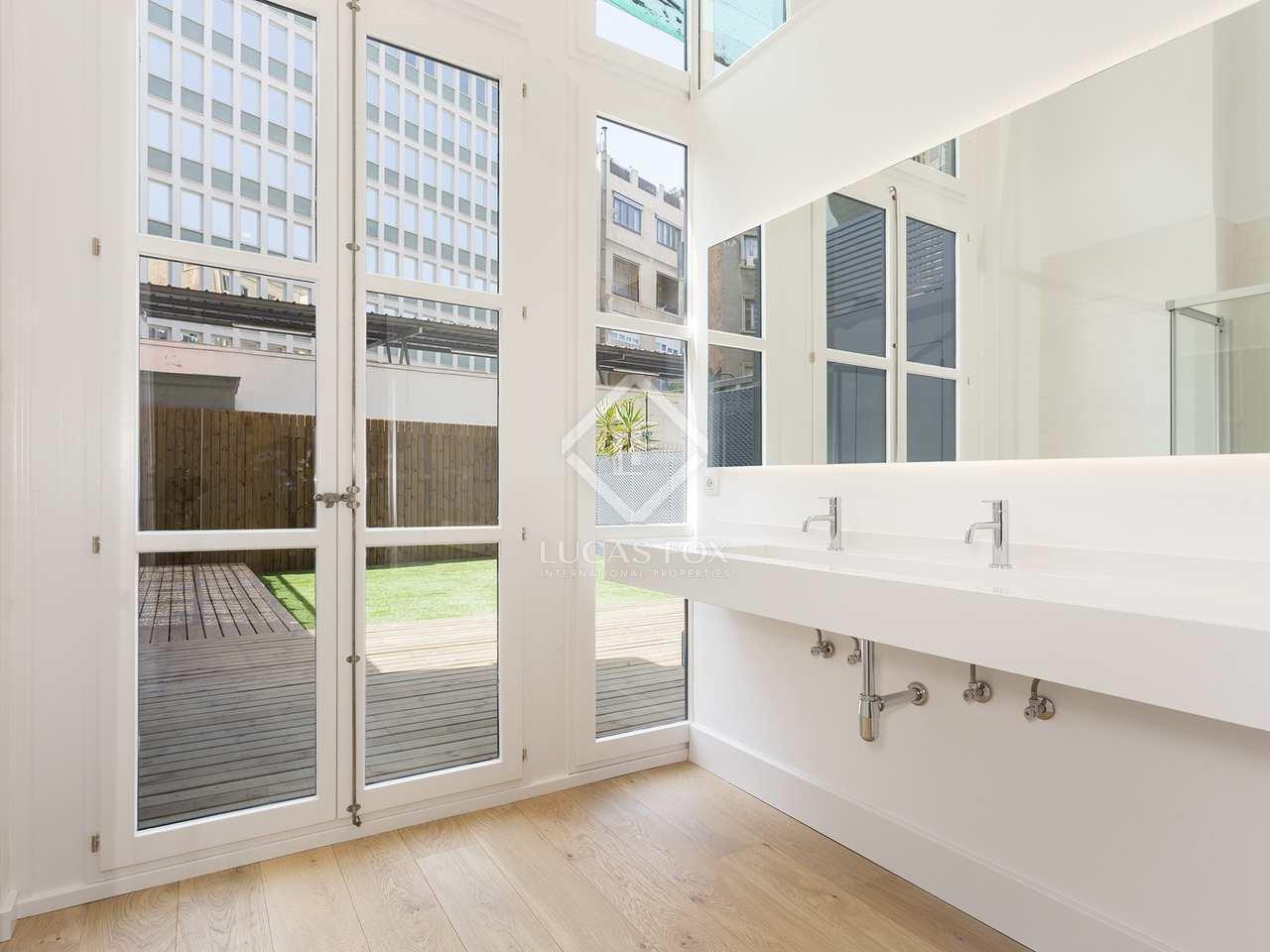 138m wohnung mit 50m terrasse zum verkauf in eixample links. Black Bedroom Furniture Sets. Home Design Ideas