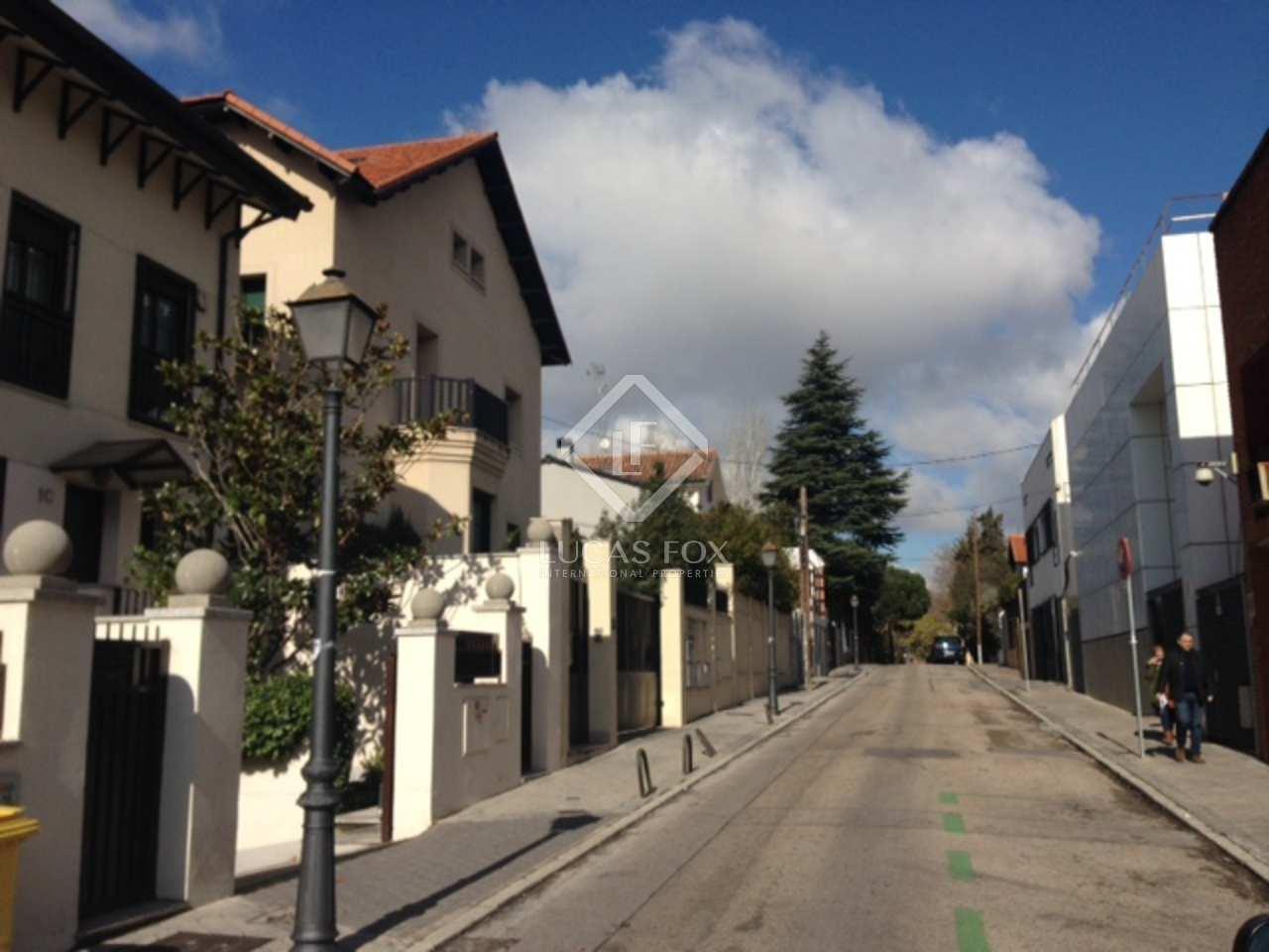 Villa en alquiler en madrid chamart n ciudad jard n for Barrio ciudad jardin
