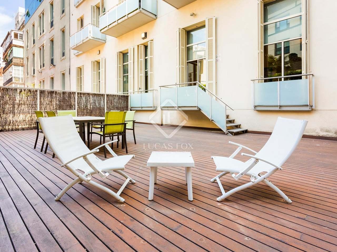 Appartement de 162m a vendre eixample droite avec 83m for Appartement avec piscine barcelone