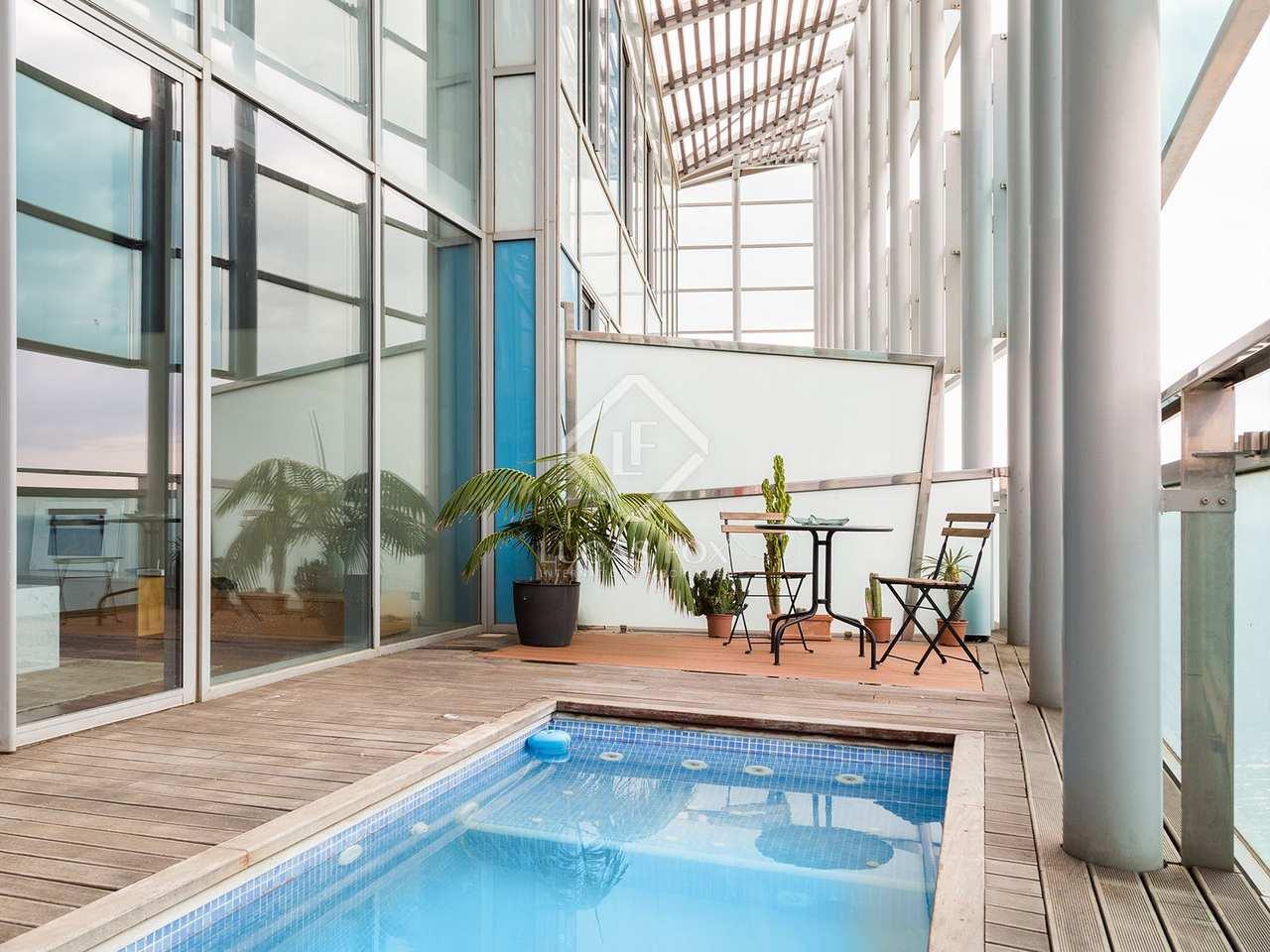 Tico en venta en diagonal mar barcelona - Atico duplex barcelona ...